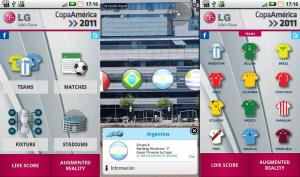 Aplicación Copa América 2011
