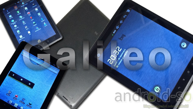 bq Galileo, tu nueva tablet con Android
