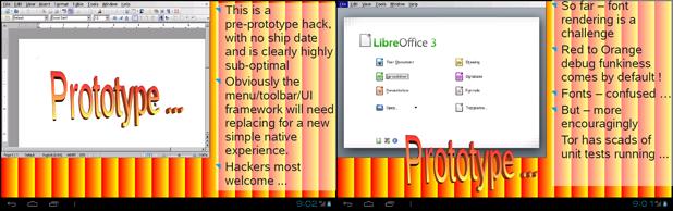 Libre office versión Android